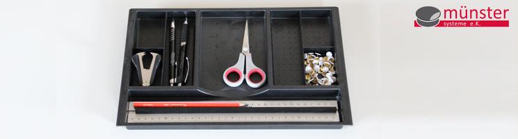 Schubladeneinsatz Schreibtisch 9654 münster systeme 174 professionelles kabelmanagement am