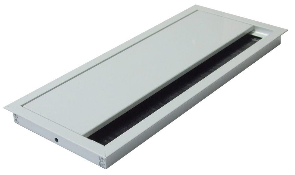 Kabeldurchführung Aluminium für Konferenztische