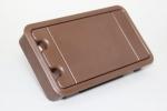 9-00-901295 sepiabraun RAL 8014 -Kabeldurchfuehrung-kabelset-muenster-systeme-kunststoff-rechteckig-2000