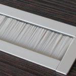 Kabelauslass-TV-Muenster-Systeme-Kabelmanagement-Kabeldurchführung-Schreibtisch